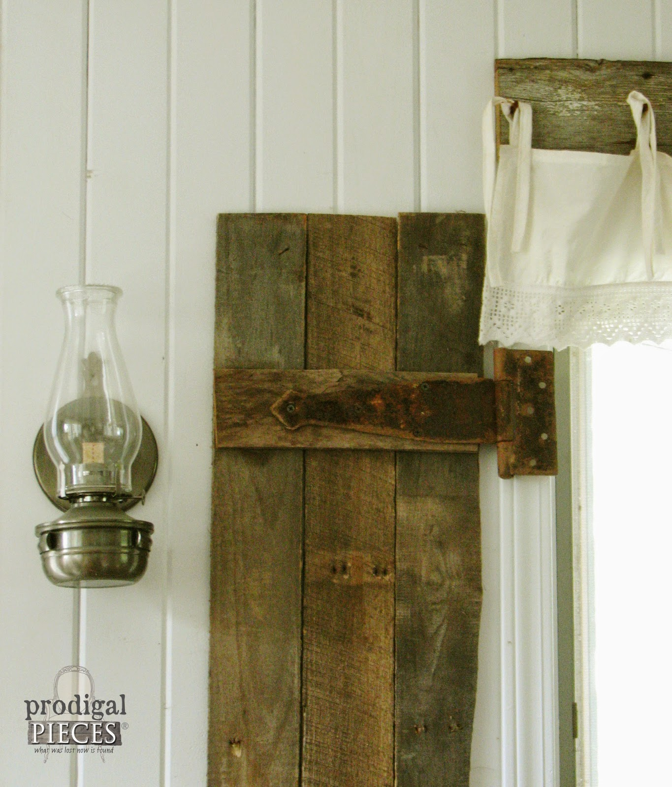 Diy barn wood shutters from pallets prodigal pieces for Barnwood pieces