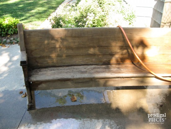 Caring for Weathered Wood with Linseed Oil  Prodigal Pieces   www.prodigalpieces