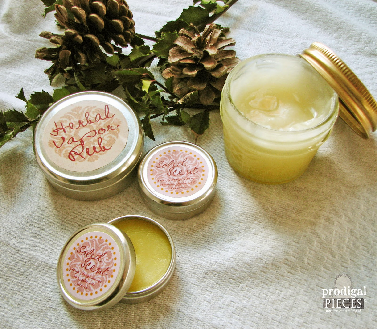 Handmade Holidays: Gift Ideas & Resources - Natural Bath & Body by Prodigal Pieces www.prodigalpieces.com