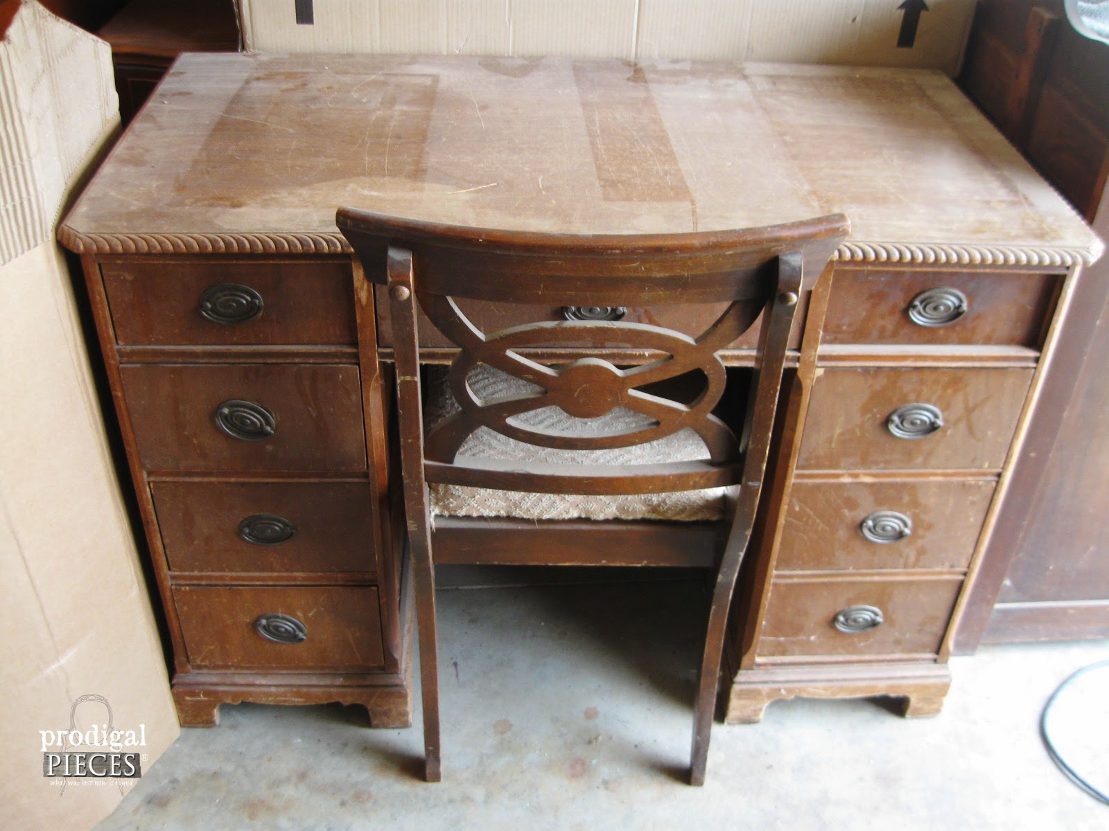 An Antique Desk Makeover By Prodigal Pieces Prodigalpieces Com