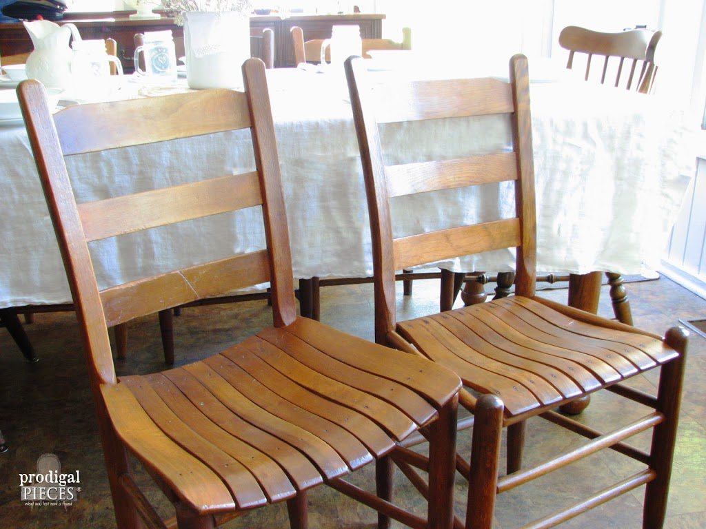 Farmhouse Style Musical Chairs by Prodigal Pieces http://www.prodigalpieces.com