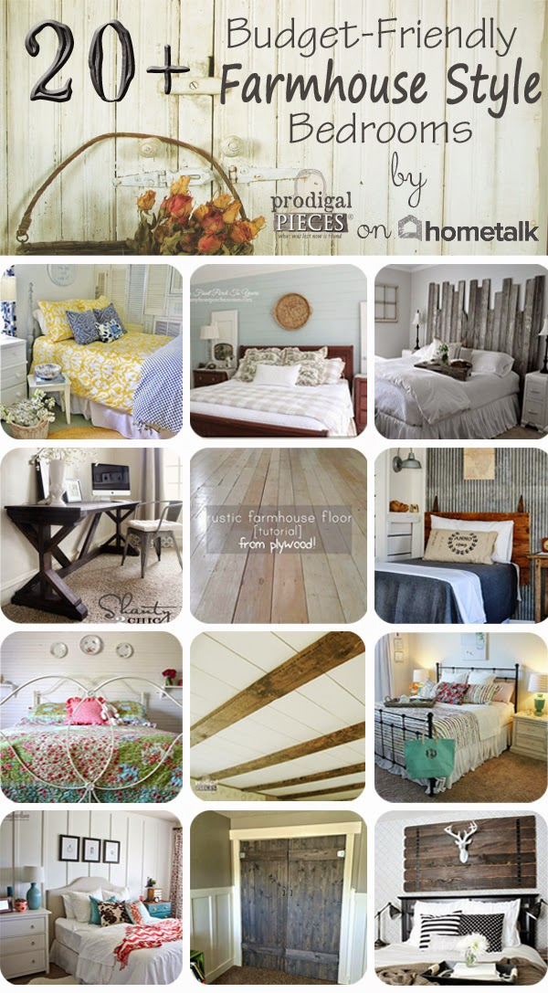 20+ Budget-Friendly Farmhouse Style Bedrooms by Prodigal Pieces on Hometalk  www.prodigalpieces.com