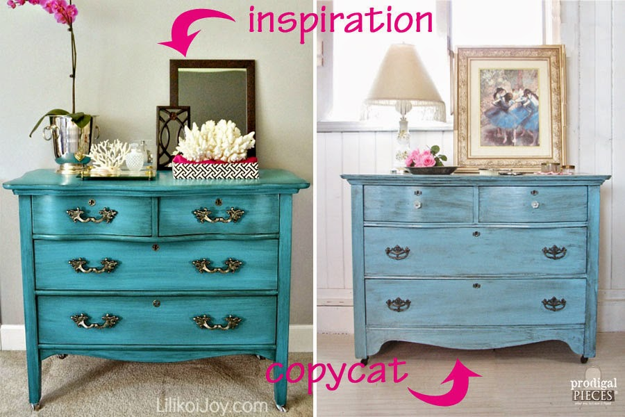 Ordinaire Antique Serpentine Dresser Gets Much Needed Makeover For Baby With  Inspiration By A Blue Beauty By