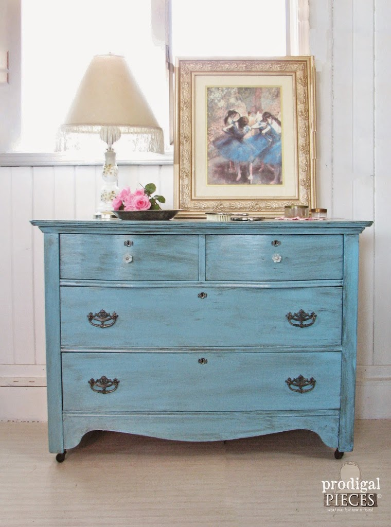 furniture makeover blue for baby prodigal pieces