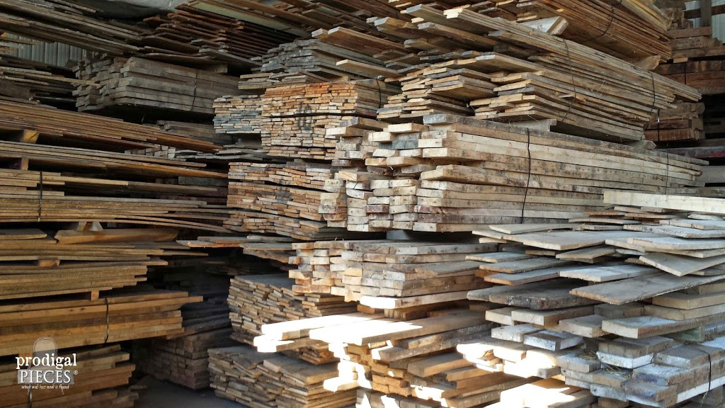 Barn Wood Heaven I Die Prodigal Pieces