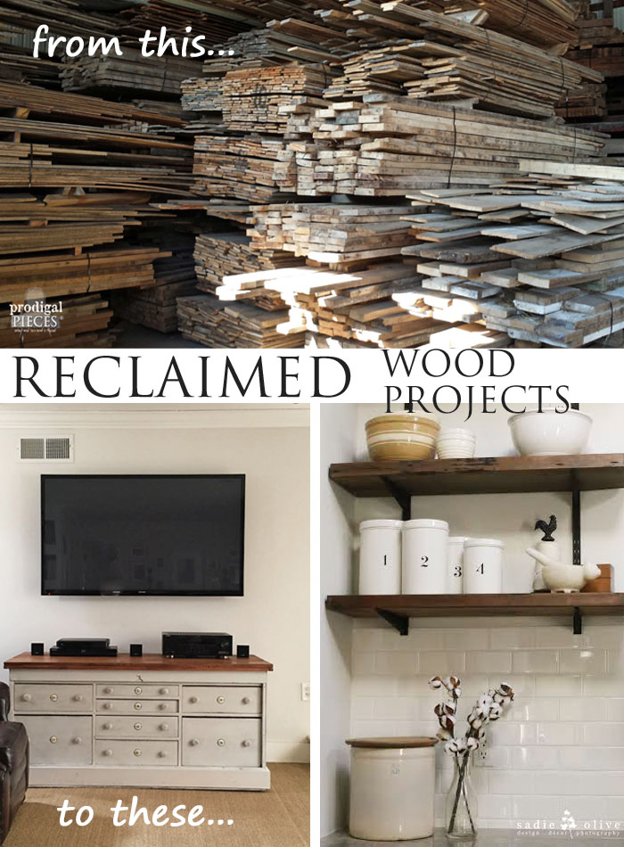 Custom Reclaimed Wood Projects Prodigal Pieces