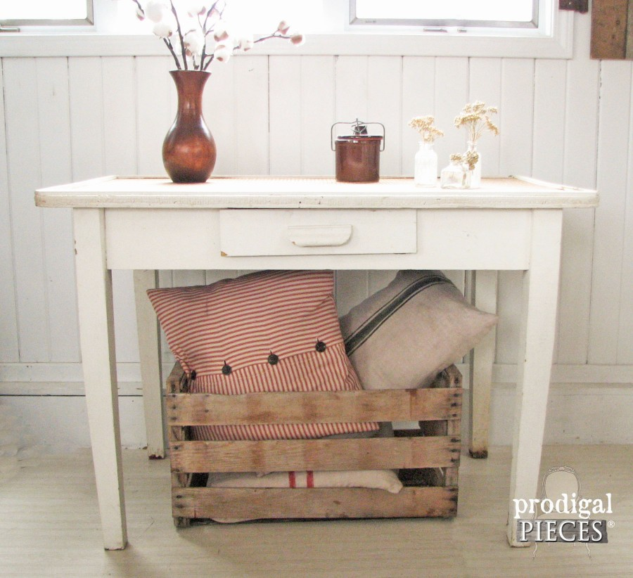 Rustic Farmhouse Table by Prodigal Pieces | prodigalpieces.com