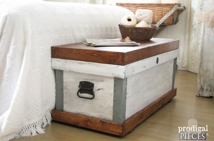 Pottery Barn Josefa Trunk Knock-Off by Prodigal Pieces www.prodigalpieces.com #prodigalpieces