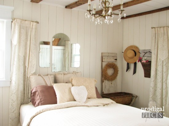Farmhouse Master Bedroom Grand Finale - Prodigal Pieces