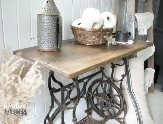 Reclaimed Sewing Machine Table Prodigal Pieces