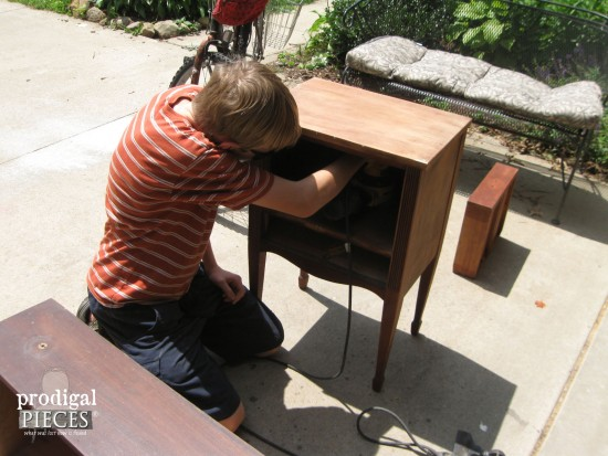Teaching my kids a trade - a long-lasting lesson in life skills by Prodigal Pieces www.prodigalpieces.com #prodigalpieces