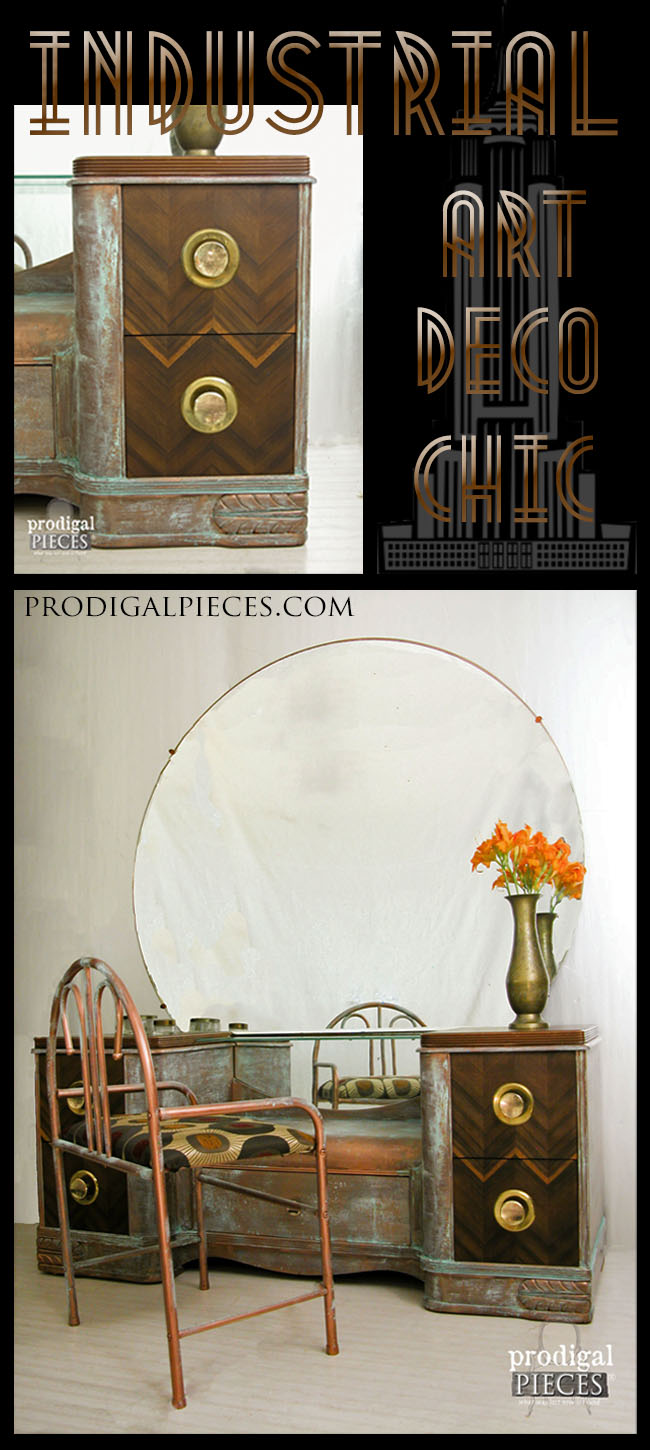 My modern masters metallic paint review prodigal pieces - Deco industriel chic ...