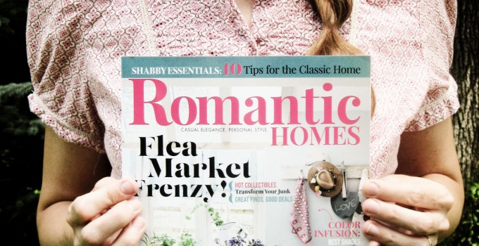 PINCH ME! I'm in Romantic Homes Magazine