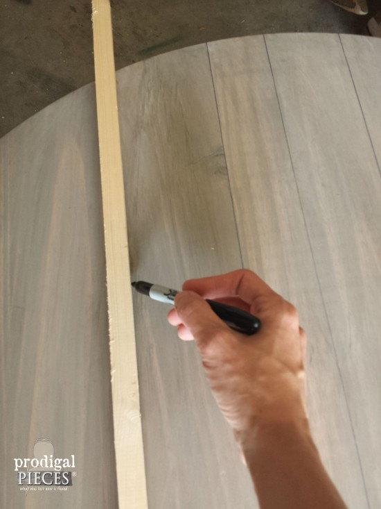 how to get permanent marker off wood door