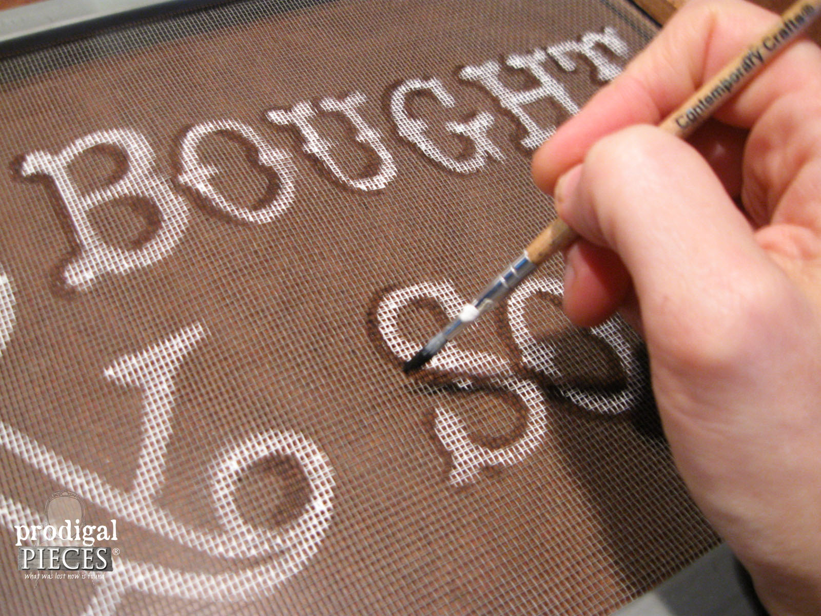 How To Paint On A Window Screen Prodigal Pieces