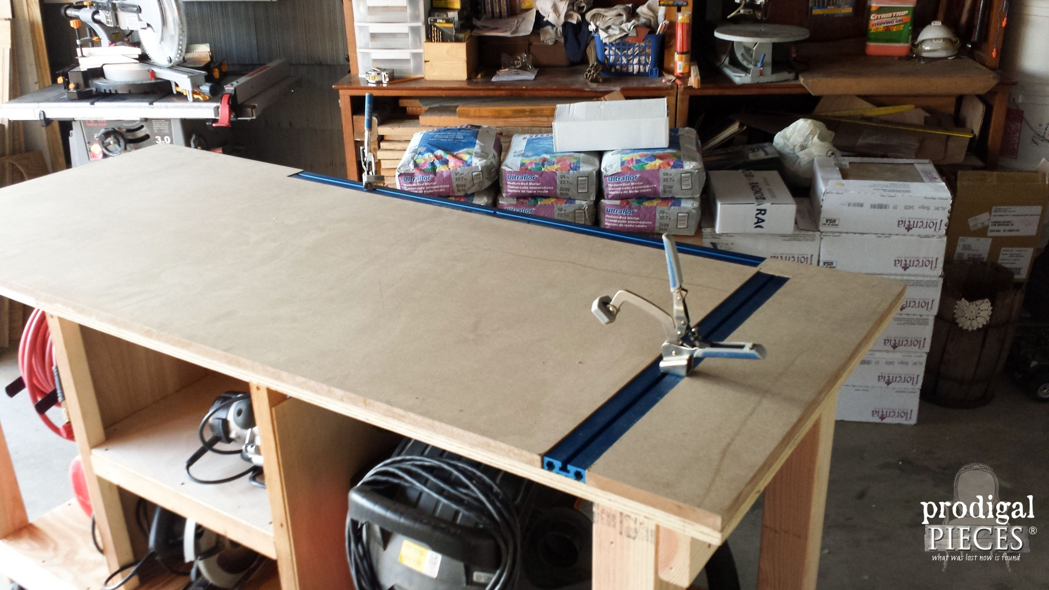 Diy kreg clamping table diy unixcode diy workbench fit for a junker prodigal pieces combo router table klamp greentooth Images