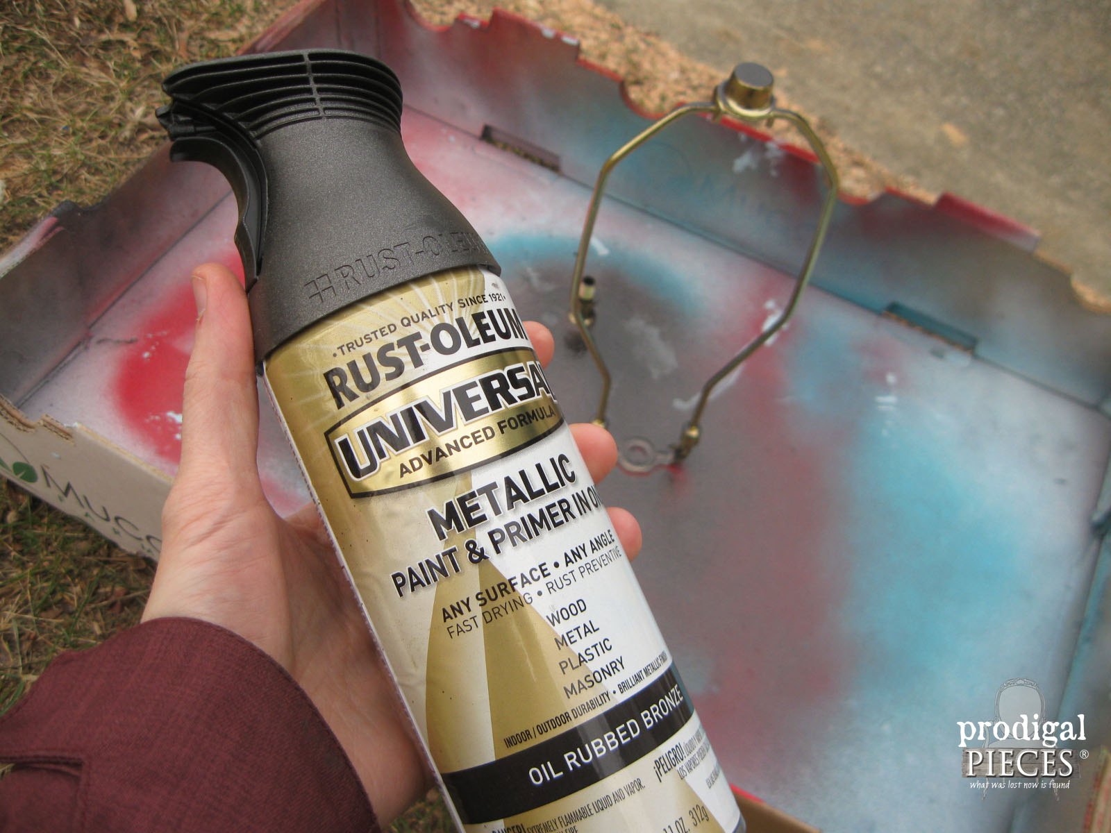 Rust-Oleum Oil Rubbed Bronze Spray Paint | Prodigal Pieces | www.prodigalpieces.com