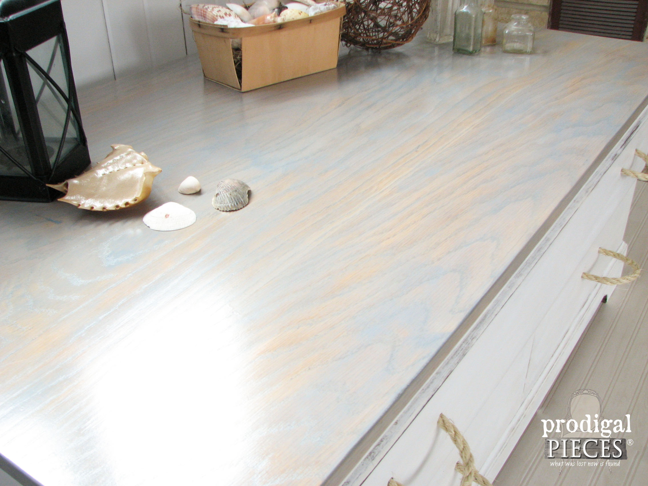 Sunbleached Coffee Table Top by Prodigal Pieces | www.prodigalpieces.com