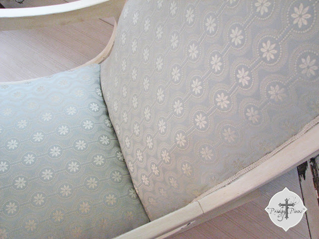reupholster a rocking chair part 3 via Prodigal Pieces