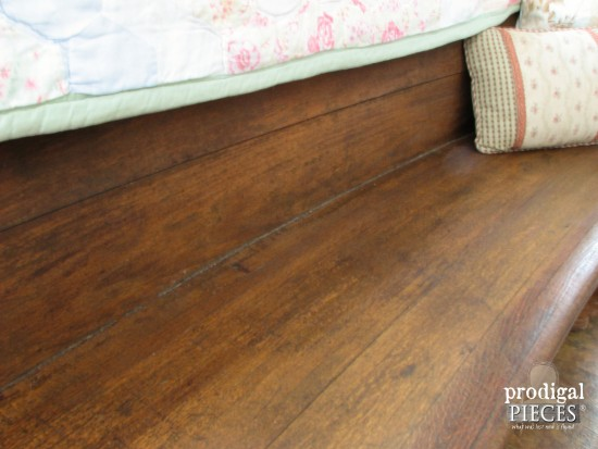 Refresh Weathered Wood with Linseed Oil | Prodigal Pieces | www.prodigalpieces.com