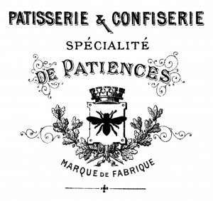 Patisserie French Graphic from The Graphics Fairy via Prodigal Pieces