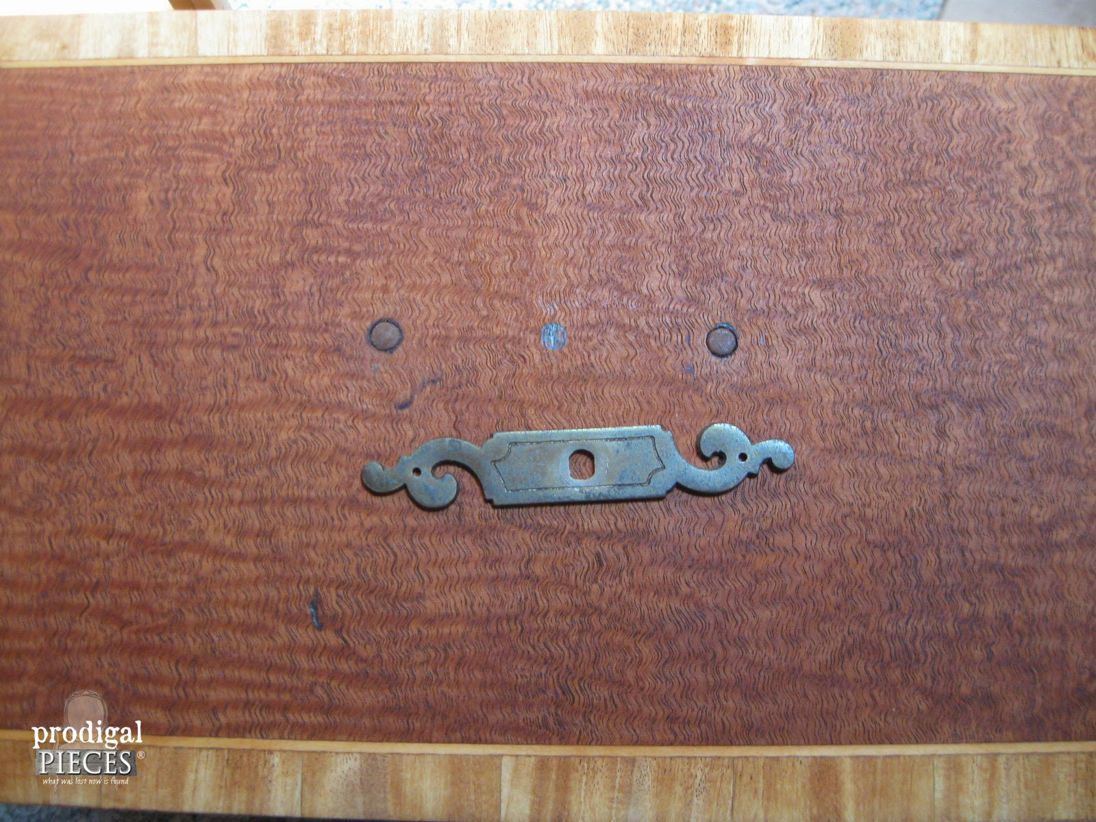 Antique Drawer Pull Back Plate| Prodigal Pieces | www.prodigalpieces.com