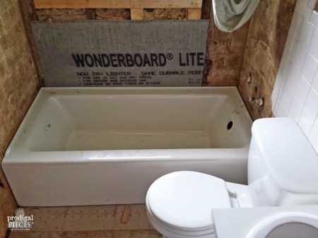 1950's Bathroom Remodel by Prodigal Pieces | www.prodigalpieces.com