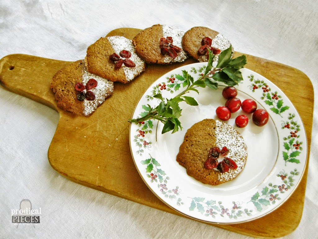 Plated Grain Free Christmas Spice Cookie by Prodigal Pieces | prodigalpieces.com #prodigalpieces
