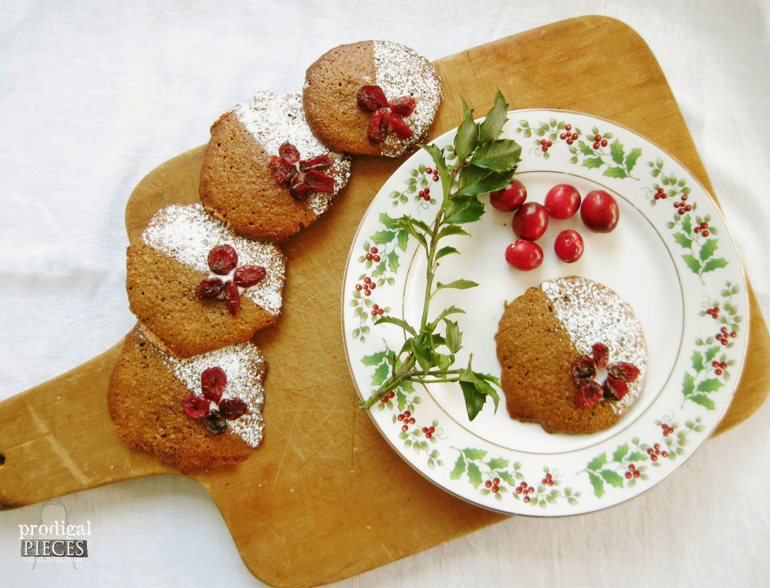 Christmas Cookies for Grain-Free Holiday Fun by Larissa of Prodigal Pieces | prodigalpieces.com