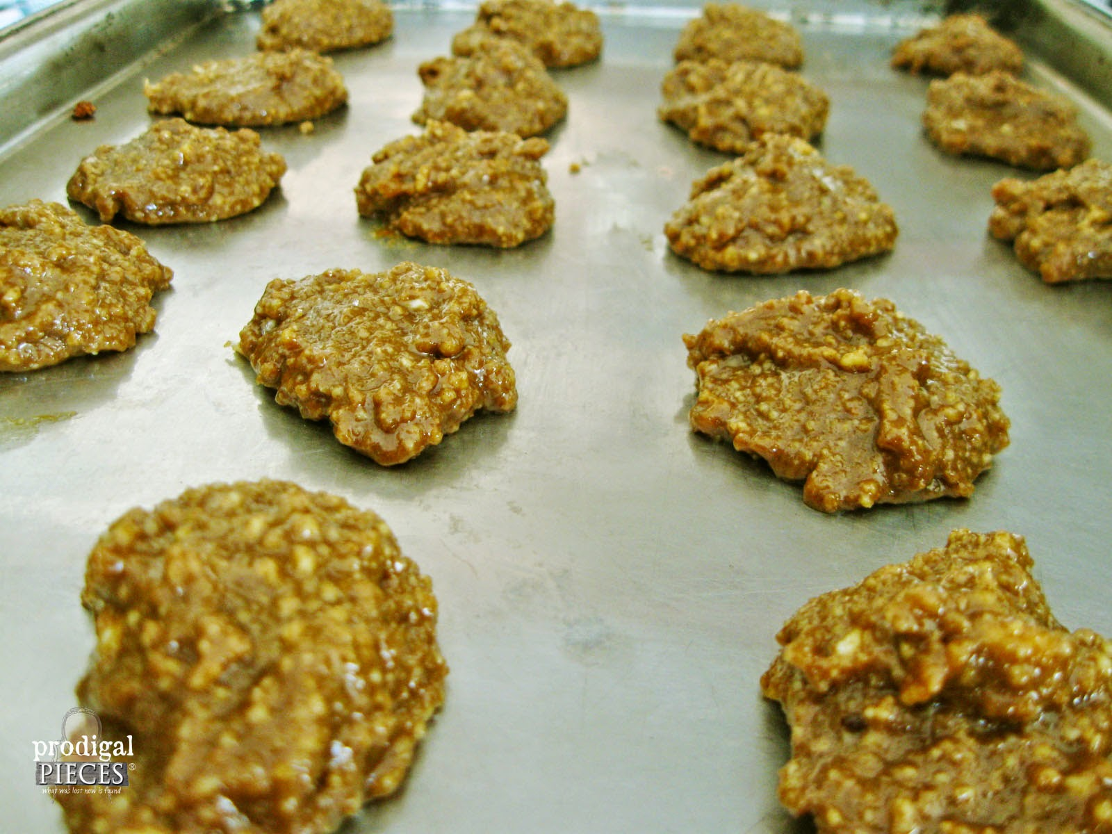 Cookies on Baking Sheet | prodigalpieces.com