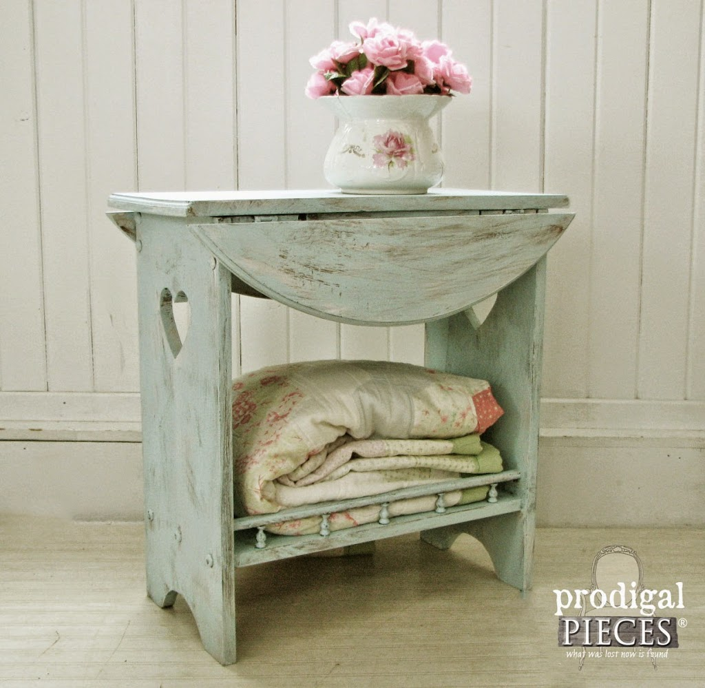 Creating Layer of Love with Paint and Stain by Prodigal Pieces | prodigalpieces.com