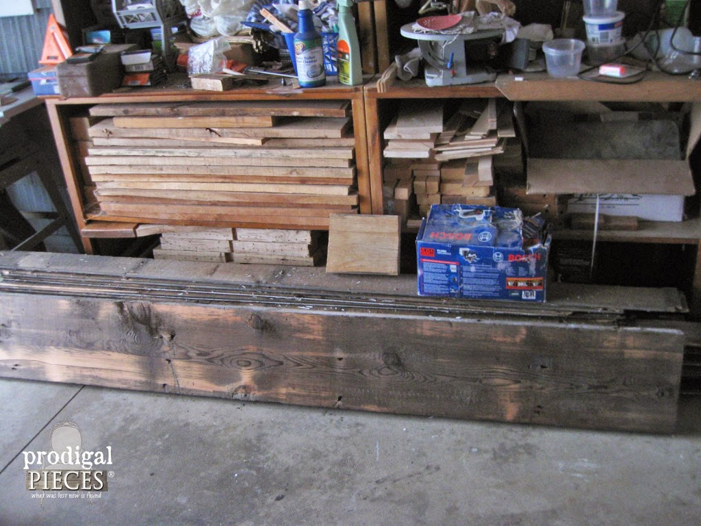 Reclaimed Barn Wood Heaven by Prodigal Pieces www.prodigalpieces.com #prodigalpieces