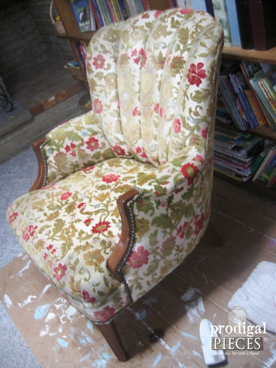 3 Garage Channel Back Chair Gets Deconstructed Makeover By Prodigal Pieces Www Prodigalpieces