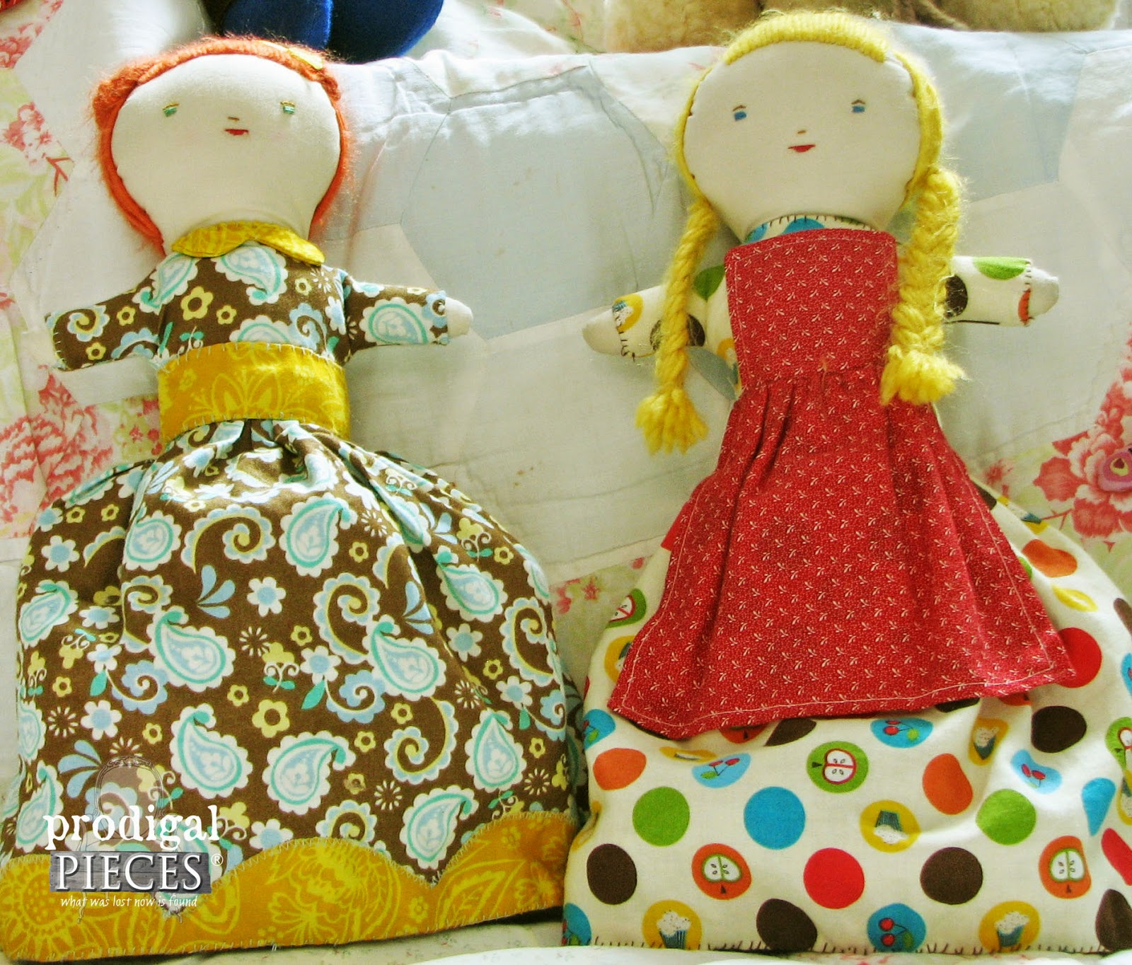 Handmade Holidays: Gift Ideas & Resources, Dolls by Prodigal Pieces www.prodigalpieces.com