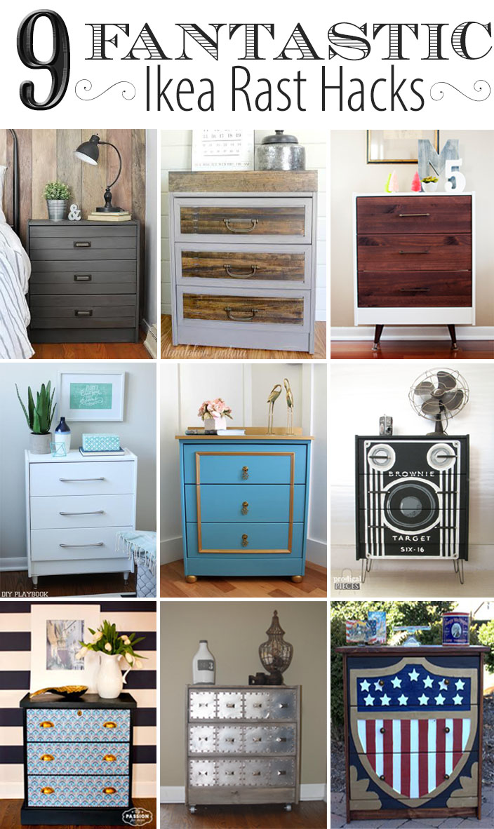 9 Fantastic Ikea Rast Hacks featured by Prodigal Pieces www.prodigalpieces.com #prodigalpieces
