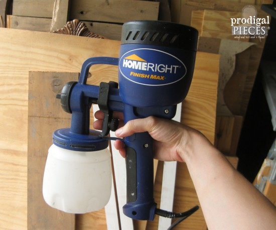 HomeRight Finish Max Paint Sprayer | Prodigal Pieces | www.prodigalpieces.com