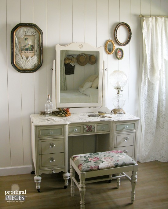 French Script Dressing Table | Prodigal Pieces | www.prodigalpieces.com
