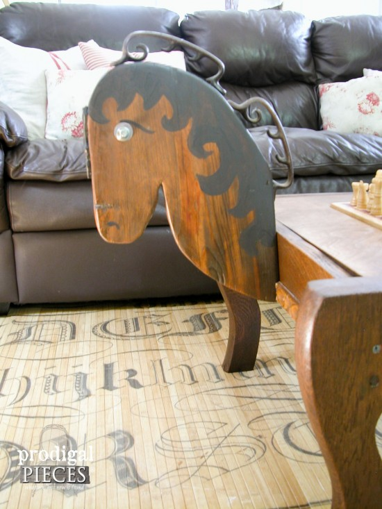 Handmade Custom Horse Head Table | prodigalpieces.com