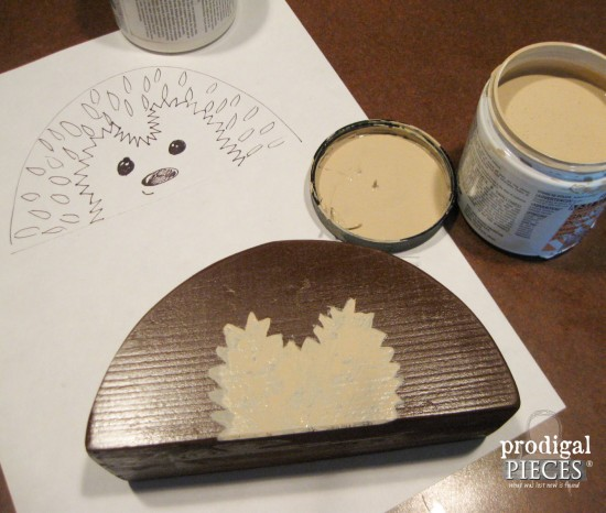 You can build this adorable hedgehog pencil holder for back-to-school, homeschool, or for fun with this step-by-step tutorial by Prodigal Pieces www.prodigalpieces.com #prodigalpieces