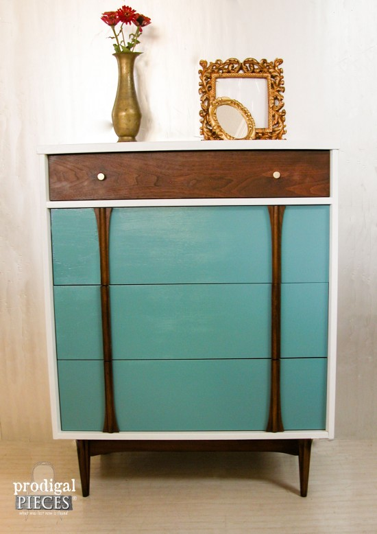 Sometimes A Vintage Mid Century Modern Piece Of Furniture Can Use An  Update. Here Is