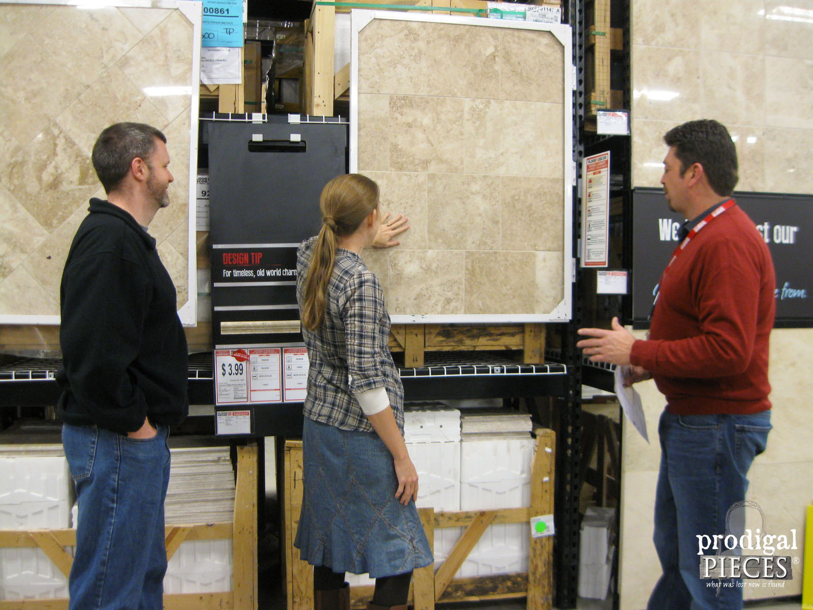 Looking at Kitchen Floor Tile at Floor & Decor | Prodigal Pieces | www.prodigalpieces.com