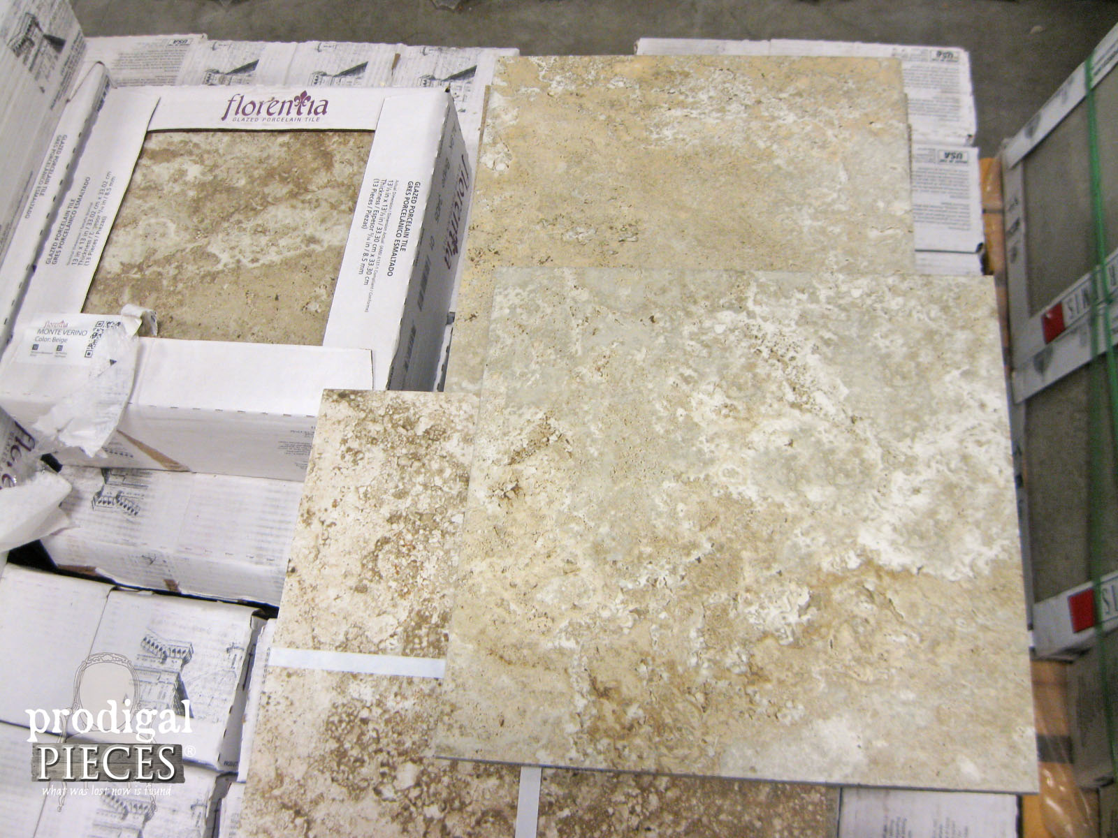 Stone Look Porcelain Tile | Prodigal Pieces | www.prodigalpieces.com