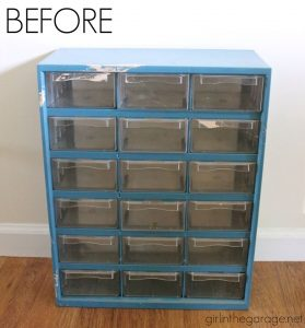 Storage Cubby to French Organizer by Girl in the Garage